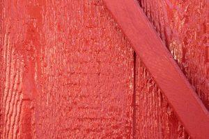 Röd slamfärg